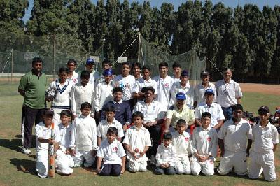 G Force Cricket Tour to Bangalore 2010